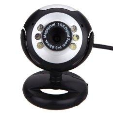 8 Mega Pixels 50.6 LED USB Webcam Camera with Mic For PC Laptop Computer