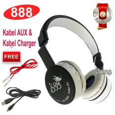 888 Bluetooth KSD- 288B Stereo Headphone Support Micro SD ROPS EDR Buil-In Mikrofon MP3 FM Headset