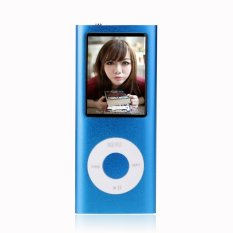 8gb Slim 1.8 LCD Mp3 / Mp4 Music Video FM Radio Media Player (Blue) (Intl)