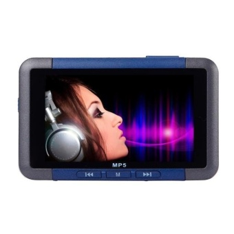 8GB Slim MP3 MP4 MP5 Music Player With 4.3'' LCD Screen FM RadioVideo Movie Silver - intl