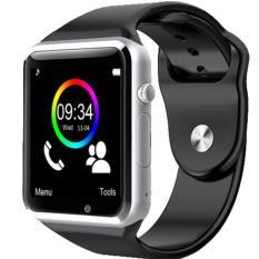 A1 cerdas perhiasan Jam Tangan Bluetooth untuk ponsel jam pintar Android Samsung S5 S6 Note 4 Note 5 HTC Sony LG dan iPhone 5/5S 6 Plus Smartphone