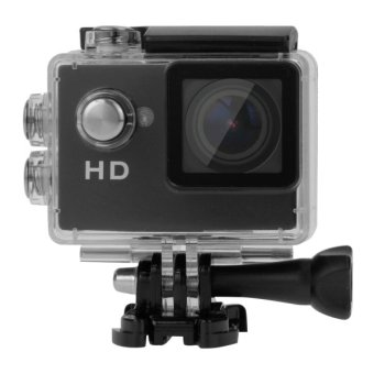 A7 HD720P 1.5 inch LCD Screen Sports Camcorder with Waterproof Case, 30m Waterproof(Black)