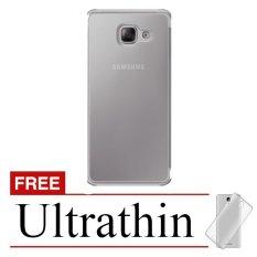 Accessories Hp Samsung Galaxy A5/A510 2016 Ultrathin Softcase - Abu-abu Transparan - Free Ultrathin