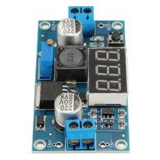 Adjustable LM2596 Step Down DC-DC Converter Power Module With Digital Display - Intl