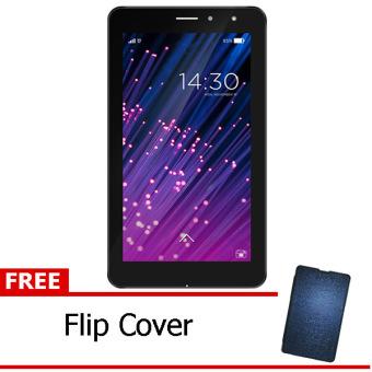 Advan vandroid E1C 3G RAM 1GB – putih + Free Flipcover Biru tua