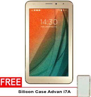 Advan Vandroid i7A 4G LTE - 8GB - Gold + Gratis Silicon Case