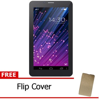 Advan Vandroid S7A – White + Free Flipcover Gold