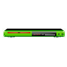 Airlux DVD Player AR - 518 - Green