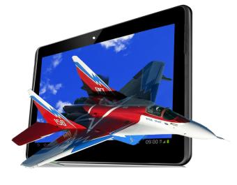 Aldo Tablet T 72 3G – Hitam