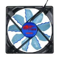 Allwin Cool And Quiet 15 Blue / Green LED Desktop Pc Computer Case Cooling Fan Blue