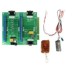 Allwin GBS-8118 Arcade Game 2in1 JAMMA Switcher PCB Remote Control And Receiver