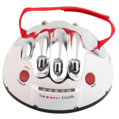 Allwin Polygraph Shocking Liar Micro Electric Shock Lie Detector Truth Game Toy
