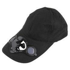 Allwin Summer Sport Outdoor Hat Cap With Solar Sun Power Cool Fan For Cycling