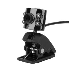 Allwin USB 5Mega Pixel Sharp 6LED HD Webcam Camera with Microphone Mic For PC Laptop