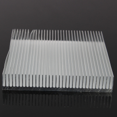 Aluminum Heat Sink Cooling 90x90x15 Mm For LED Power IC Transistor DC Converter