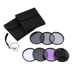 Andoer 55mm UV + CPL + FLD + ND (ND2 ND4 ND8) Photography Filter Kit Set Ultraviolet Circular-Polarizing Fluorescent Neutral Density Filter For Nikon Canon Sony Pentax DSLRs (Intl)