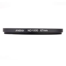 Andoer 67mm ND100.10 Stop Fader Neutral Density Filter For Nikon Canon DSLR Camera (Intl)