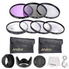Andoer 77mm UV + CPL + FLD + Close-up (+ 1 + 2 + 4 + 10) Lens Filter Kit
