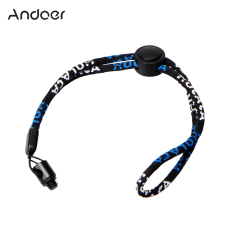 Andoer Camera Neck Wrist Strap With 1/4 Screw Nut Kit For Ricoh Theta S & M15 For LG 360 Cam For Samsung Gear 360 Camera Camcorder - Intl