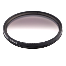 Andoer Circular Shape Graduated Neutral Density GND8 Graduated Gray Filter For Canon Nikon DSLR Camera (Intl)
