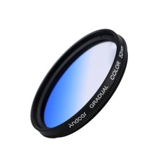 Andoer Professional 52mm GND Graduated Filter Set GND4 (0.6) Gray Blue Orange Red Graduated Neutral Density Filter For Canon Nikon DSLR 52mm Camera Lens (Intl)