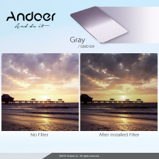 Andoer Z Series Soft Square Filter Graduated Neutral Density GND8 Grad ND 0.9 For Lee and Cokin Z-Pro Holders (Intl)