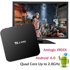 Android TV Box TX3 Pro HDMI LAN Channel Luar Negeri