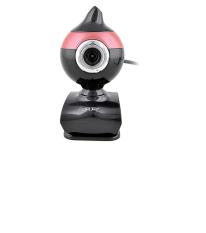 Aoni Moon 5 Megapixel Clip-on Webcam With Microphone High Definition Focus Webcam With Built In Mic For Skype, Messenger, Windows Live, And Yahoo Video On Laptops And Desktop PC