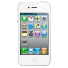 Refurbished Apple IPhone 4G - 8GB - Putih - Grade A