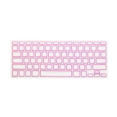 Apple Mac-book Air / Mac-book Pro JH Silicone Keyboard Cover Skin 15.4 Inch (Box Rose 2) (Intl)