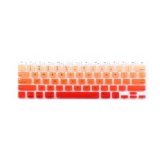 Apple Mac-book Air / Mac-book Pro JH Silicone Keyboard Cover Skin 15.4 Inch (Orange) (Intl)