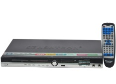 Asatron DVD Player With Amplifier Speaker & FM Radio DVD 3735 RAS Hitam