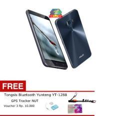 Asus Zenfone 3 Ze520kl Hitam / Sapphire Black 4/32GB Free Premium Tongsist Bluetooth (Black 32GB)