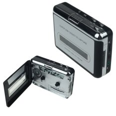 Audio Music Player Tape To PC USB Cassette To MP3 CD Converter Capture (Black)
