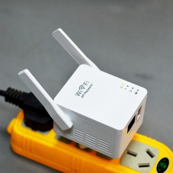 Aukey new Wifi Amplifier Internet Network Signal Booster Router Repeater USB Charging - intl
