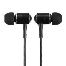 Autoleader 3.5mm Headphones Earbud Earphone Headset For IPhone 6 Galaxy S5 Note 4 MP4 MP3 Black (Intl)