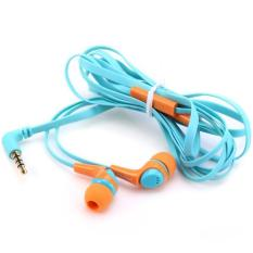Awei ESQ6i Super Bass In-ear Earphone with 1.2m Cable Mic Next Song For Smartphone Tablet PC (Orange Blue)