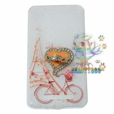 Beauty Case For Xiaomi Redmi 4A Softshell Animasi Vintage Bicycle Love + Holder Ring Love Soft