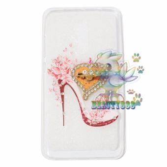 Beauty Case For Xiaomi Redmi Note 4 Softshell Animasi Fashion High Heels Holder .