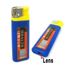 Best CT Spy Lighter Camera Biru-Kuning