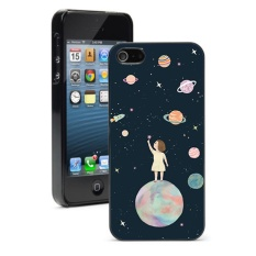 Black Space Planet For iPhone 5C - intl