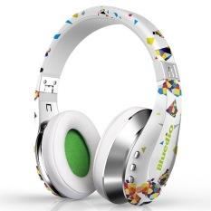 Bluedio A (Air) BT 4.1 Stereo HiFi Headset Wireless Bluetooth Headphone W / Mic HD Diaphragm Twistable Headband 3D Surround Sound (White) (Intl)