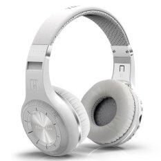 Bluedio H + (Turbine) Bluetooth Stereo Wireless Headphones Built-in Mic Micro-SD Slot / FM Radio BT4.1 Headphones, White