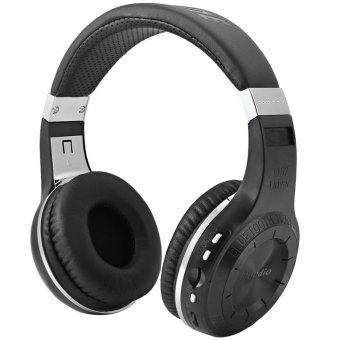 Bluedio H + Turbine Wireless Bluetooth Headset Super Bass Music With Hands Free TF Card Slot (Black)
