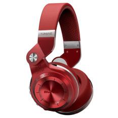 Bluedio T2S (Turbine 2 Shooting Brake) Bluetooth Stereo Headphones Wireless Headphones Bluetooth 4.1 Headset Hurrican Series Over The Ear Headphones Gift Package (Red) (Intl)