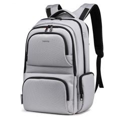Bluesky Laptop Backpack, Unisex Water Resistant Slim Business Laptop Tablet Backpack KnapSack with Ipad / Surface Pocket Fits Macbook Pro / Most 15.6-Inch Laptops, Silver (Intl)