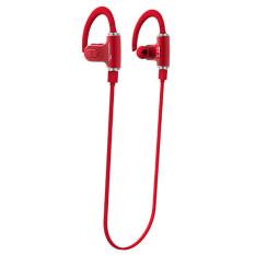 Bluetooth 4.0 Earphone Portable Wireless Stereo Outdoor Sport Running Headphone Red (Intl)