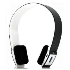Bluetooth Headset Headphone MP3 Music Android Iphone - Earphone BTH-401 Hitam