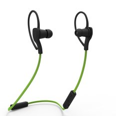 Bluetooth Headsets Earphones Beats With Mic Apple Sony Samsung HTC Stereo Wireless Sport Sport Headphones Sweatproof Earphone Headset For IPhone And Android Mobile Phone(Green) - Intl