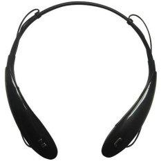 Bluetooth Stereo Headset HBS 800 & HBS-800 Neckband Headset (Black) - Intl